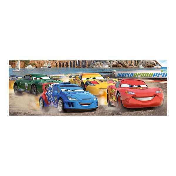 Papírové puzzle 150 dílků CARS na okruhu