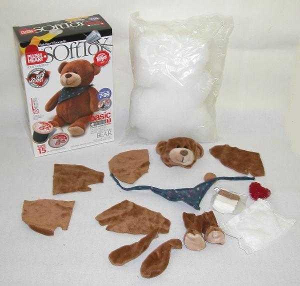 Vyrob si - Basic Plyšový medvídek se šátkem