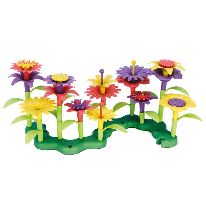 Green Toys - Květinový záhonek
