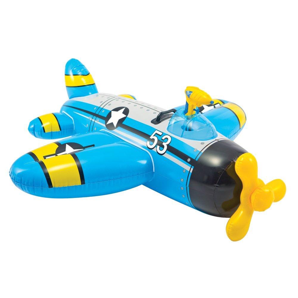 Intex Vodní vozidlo letadlo modré 57537