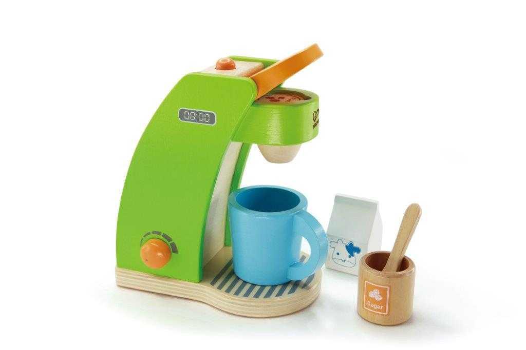 HAPE dřevěné hračky - dřevěný kávovar