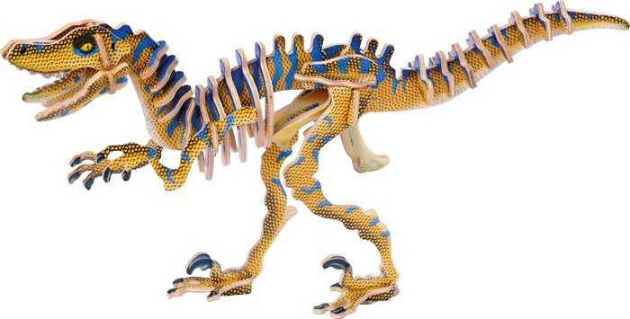 Small Foot 3D puzzle Velociraptor