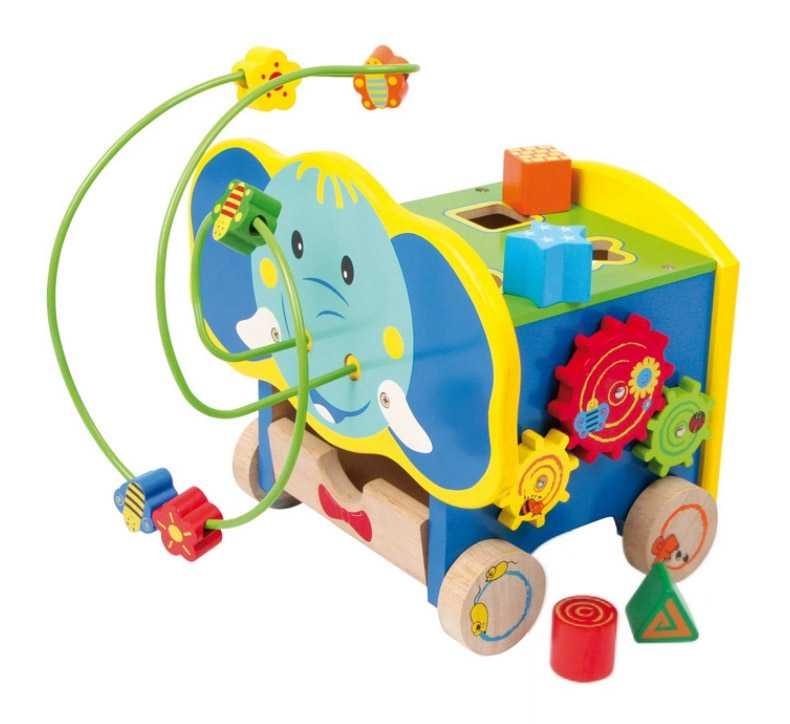 Small Foot motorické hračky aktívny motorický slon