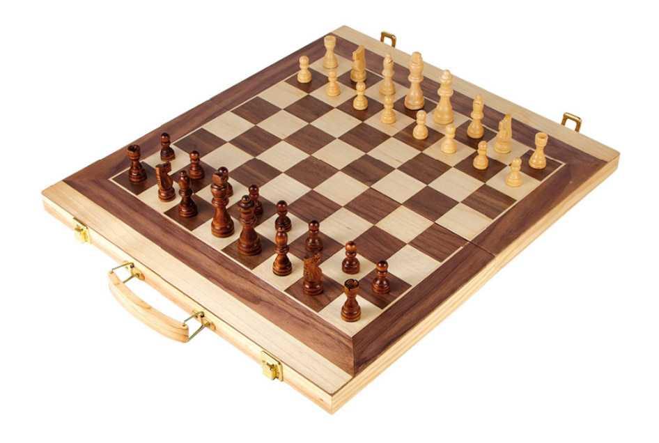 Small Foot Kufrík na šach a backgammon