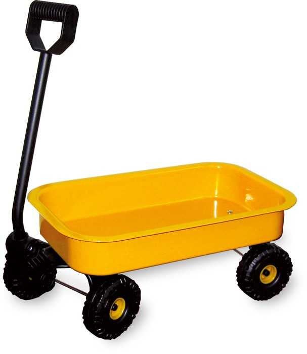 Small Foot Plechový ručný vozík