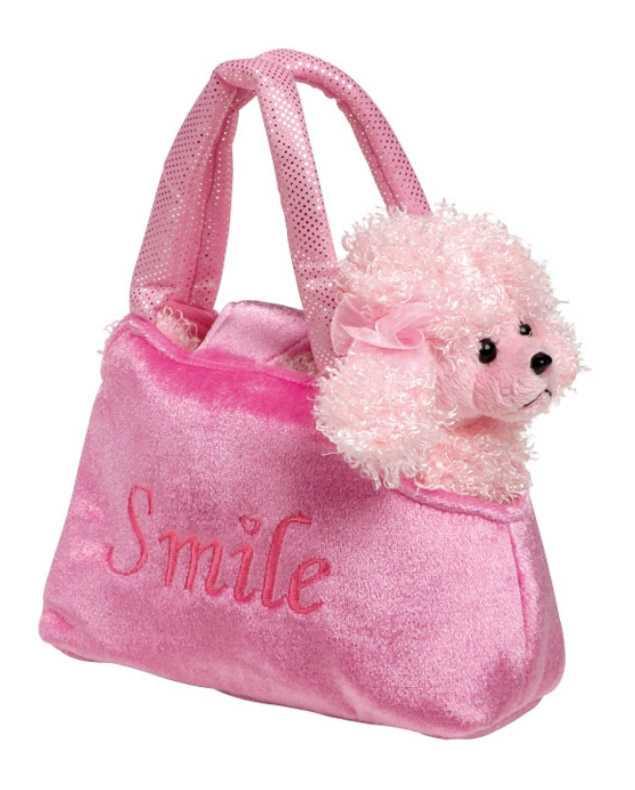 Small Foot Detská ružová kabelka - Pudel v kabelke Trixi