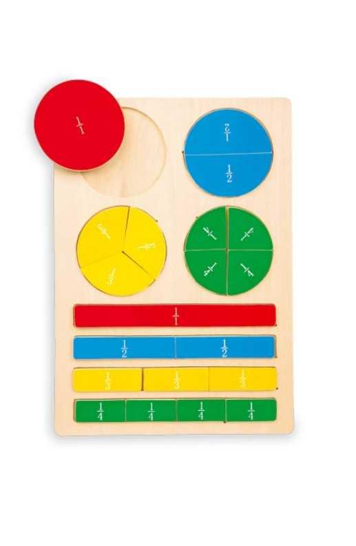 Small Foot Školská pomôcka - Puzzle zlomky