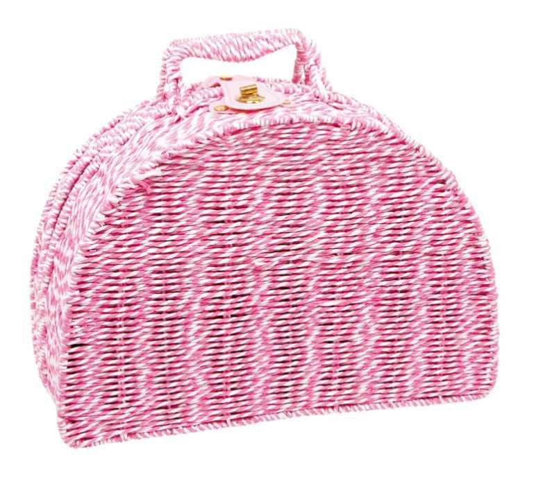 Small Foot Detský ružový piknikový kôš Emily
