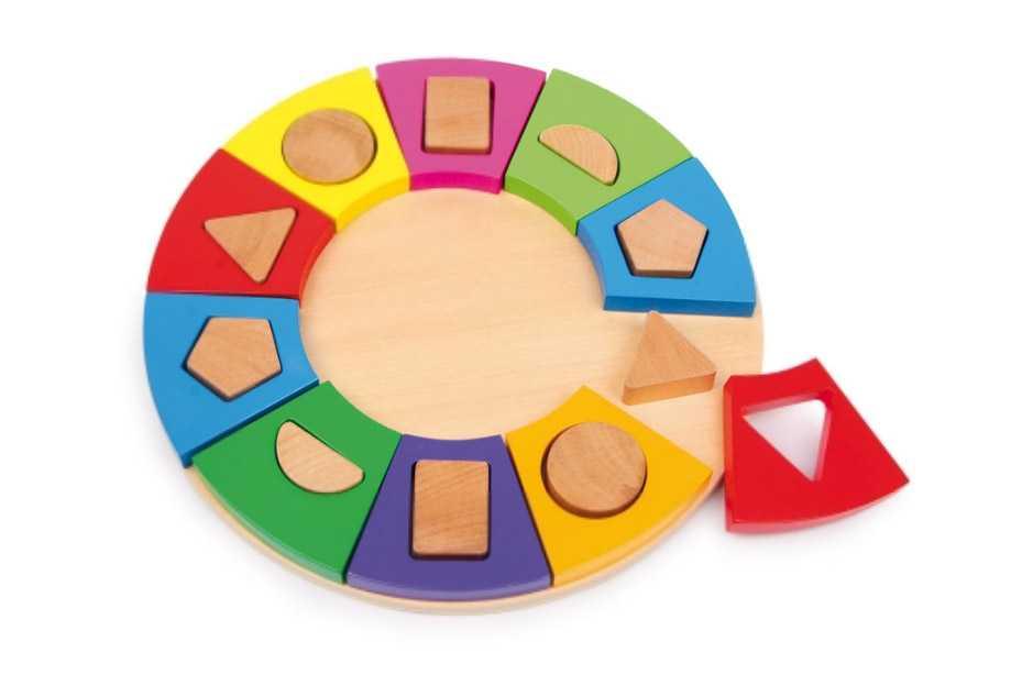 Small Foot Drevené hračky - Triedenie tvarov