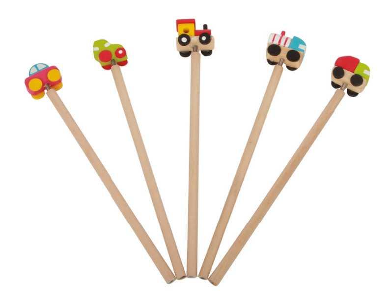 Small Foot Ceruzka dopravné prostriedky - 1ks