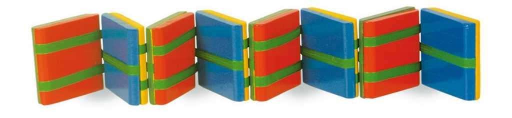 Small Foot Detská drevená hra - Farebné kúzlo