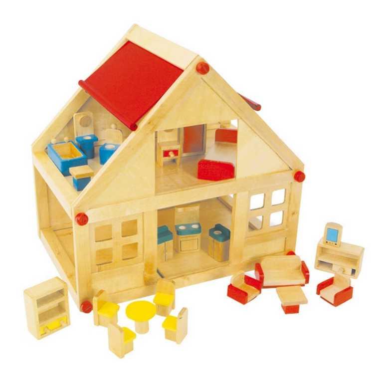 Small Foot Obytný dom pre bábiky vrátane nábytku