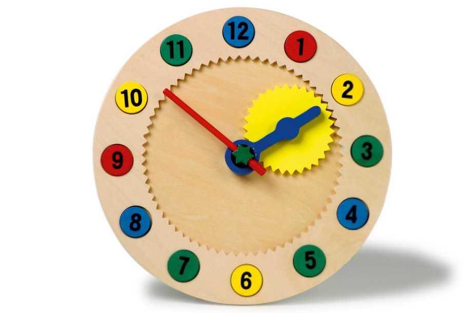 Small Foot Nauč sa hodiny s magnetickými číslami