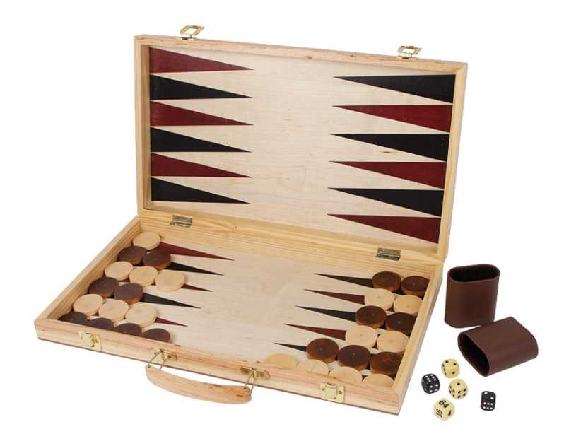 Small Foot Kufrík na šach a backgammon