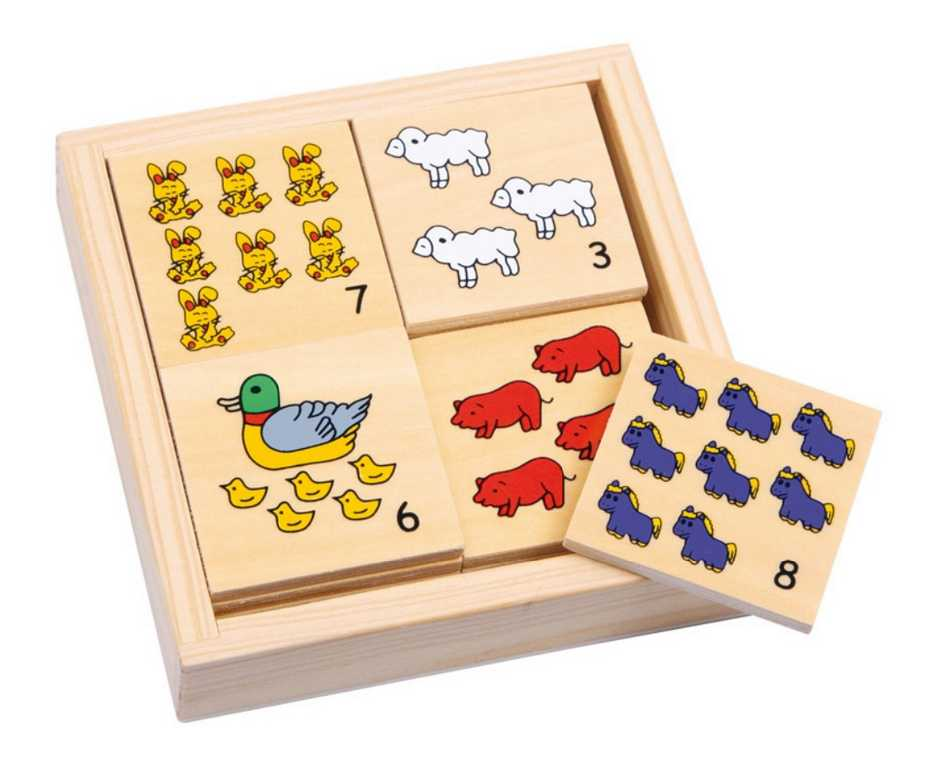 Small Foot Počítanie - Zvieratá na farme