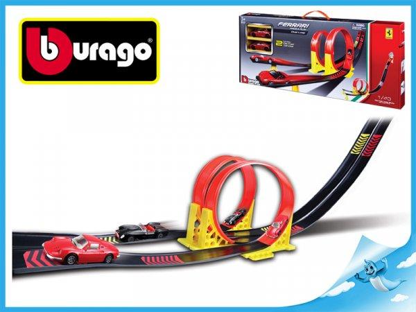 Bburago Auto & Play Ferrari závodní dráha Duo Loop