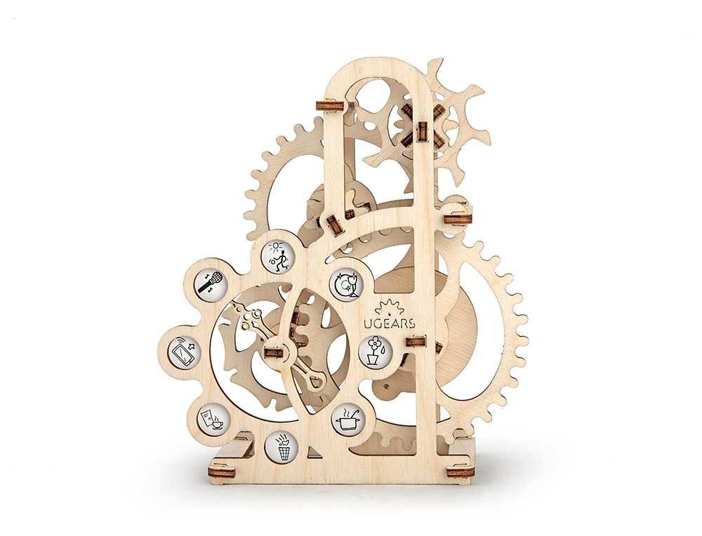 Ugears Drevená stavebnica 3D mechanické Puzzle Dynamometer
