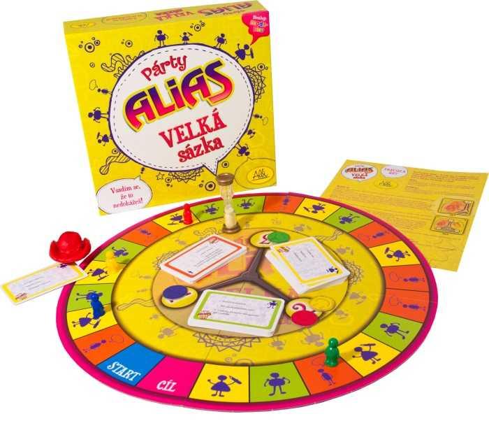 Párty hry - Párty Alias Velká sázka