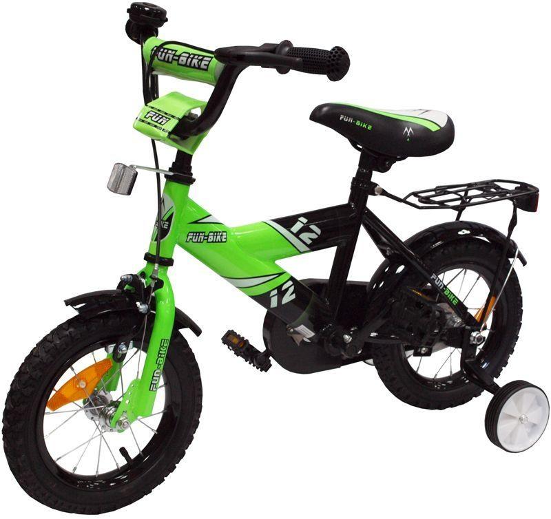 Alexis Dětské kolo 1201 Fun bike zelené