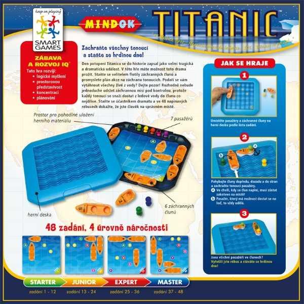 Dětské hlavolamové smart hry - Titanic
