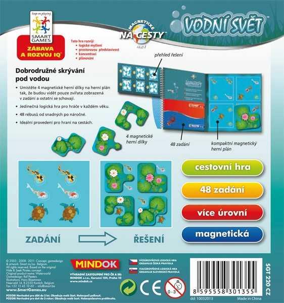 Dětské hlavolamové smart hry - Vodní svět