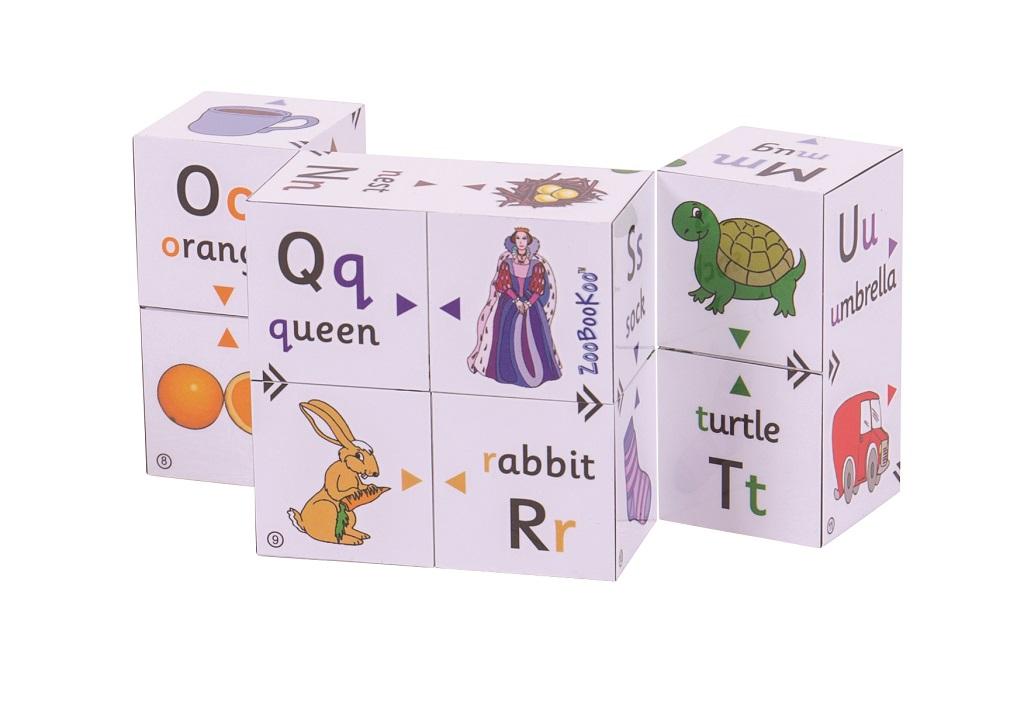 Didaktická kniha v kostce - První abeceda