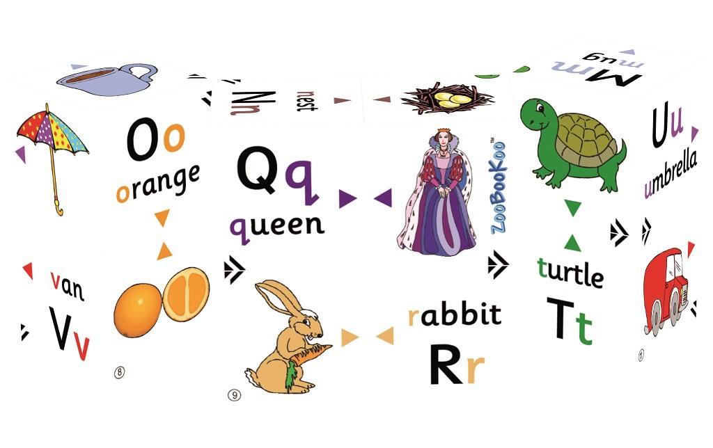 Zoobookoo Kniha v kostce První abeceda