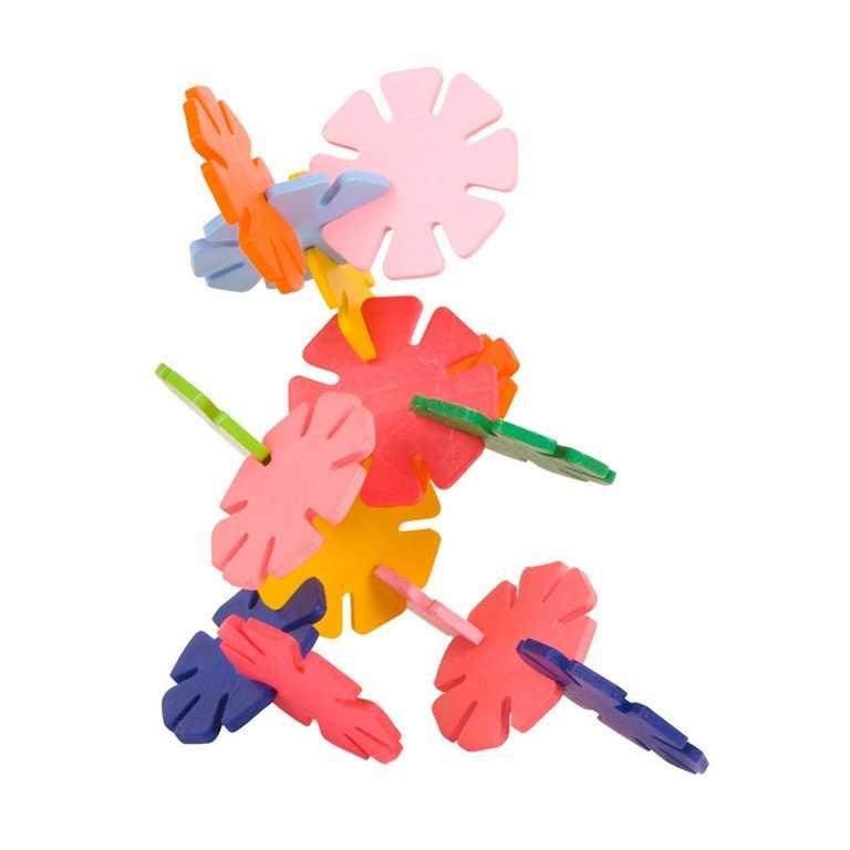 Bigjigs Toys Drevená stavebnica Daisy fun