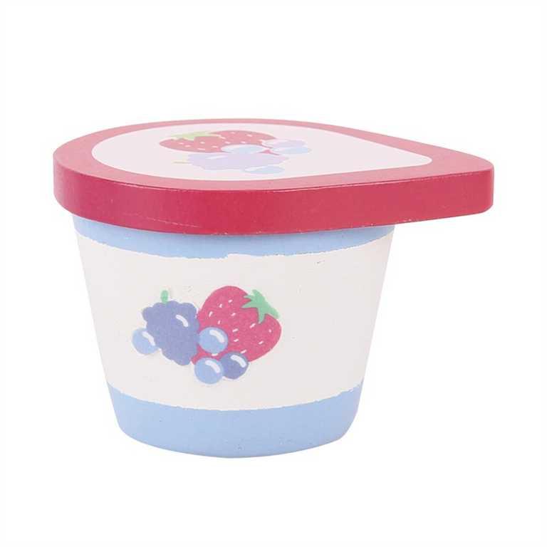 Bigjigs Toys dřevěné potraviny - Jogurt 1ks