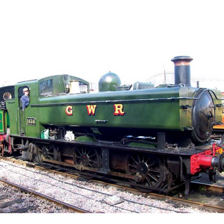 Bigjigs replika lokomotivy Kent & East Sussex + dvě koleje