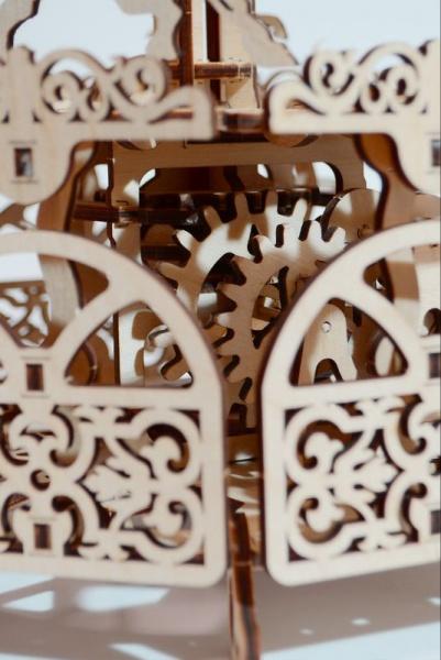Wood Trick 3D mechanické puzzle - Kolotoč