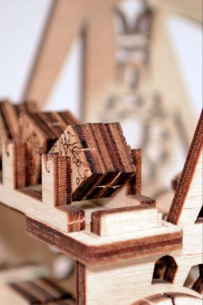 Wood Trick 3D mechanické puzzle - Katapult