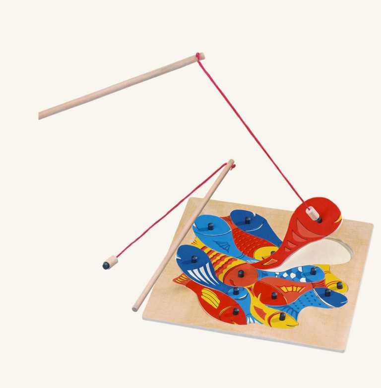 Bino Rybičky s udičkou puzzle