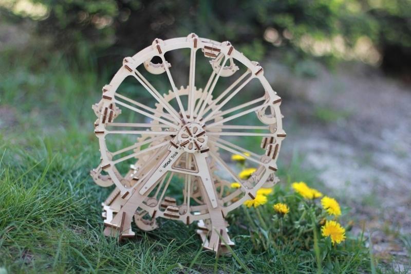 Wood Trick 3D mechanické puzzle - Vyhliadkové koleso