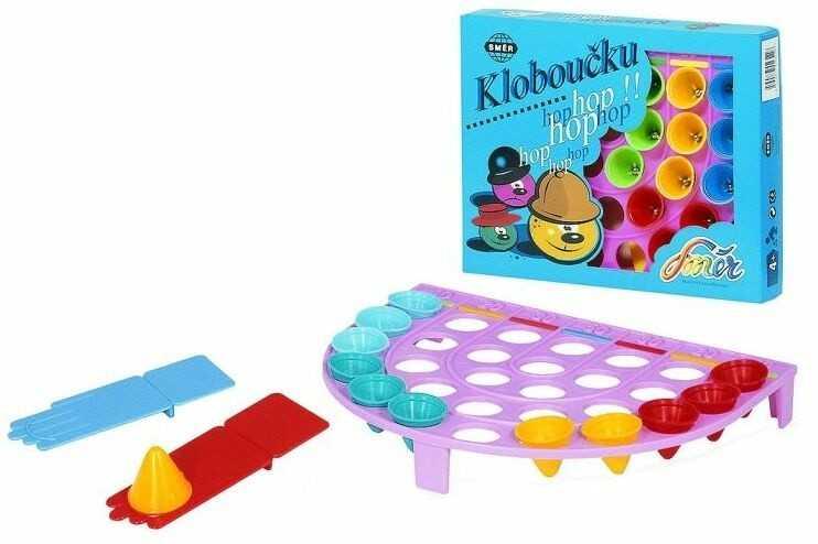 Dětské hry - Kloboučku hop