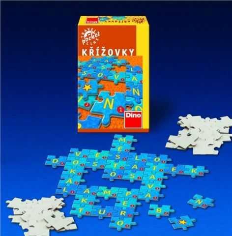 Dětské hry - Křížovky cestovní