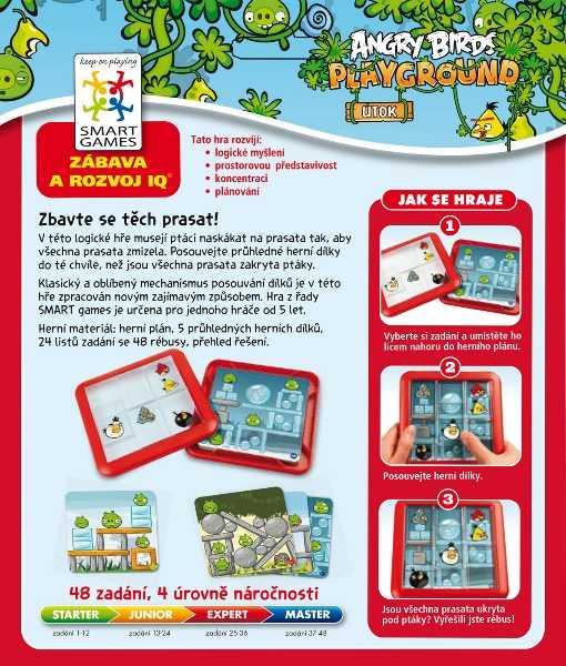Dětské hlavolamové smart hry - Angry Birds: Útok