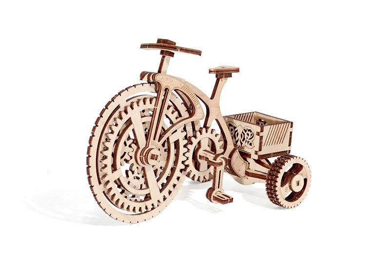 Wood Trick 3D mechanické puzzle - Bicykel