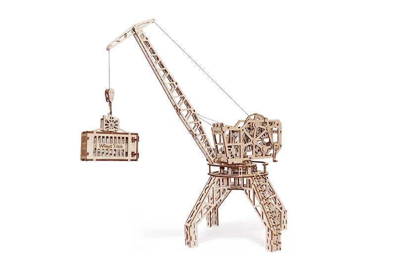 Wood Trick 3D mechanické puzzle - Žeriav