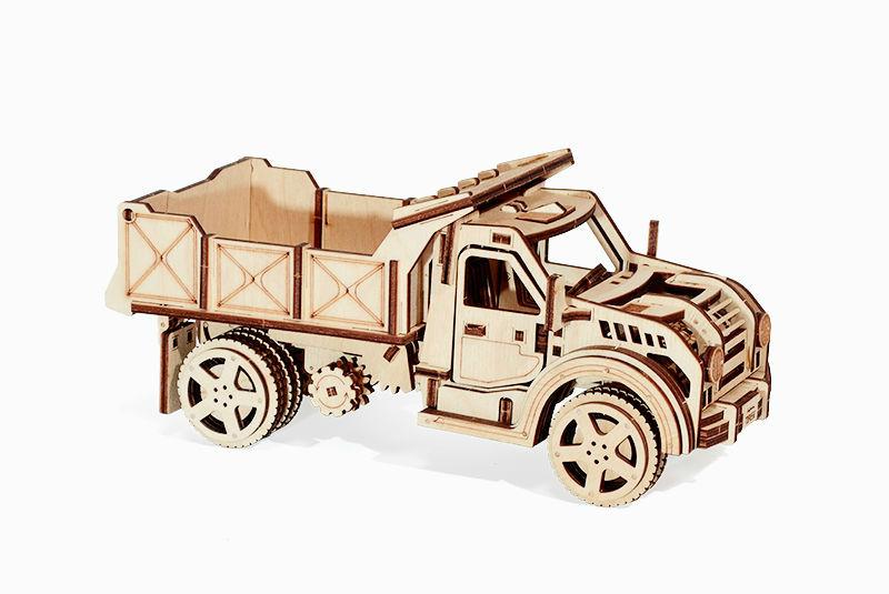 Wood Trick 3D mechanické puzzle - Nákladné auto