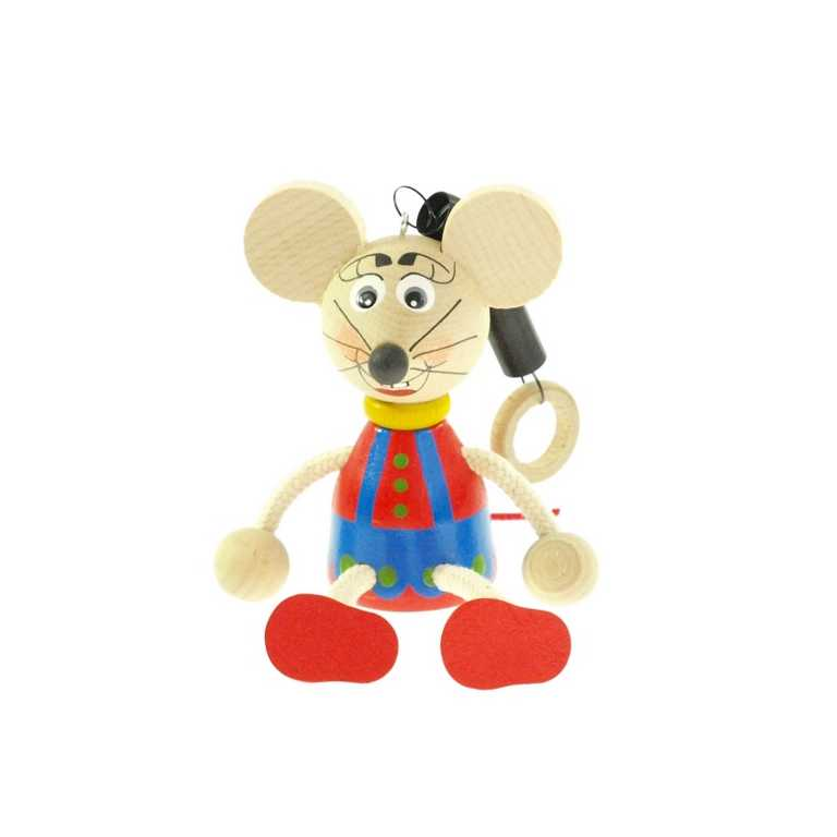 Myš na pružině