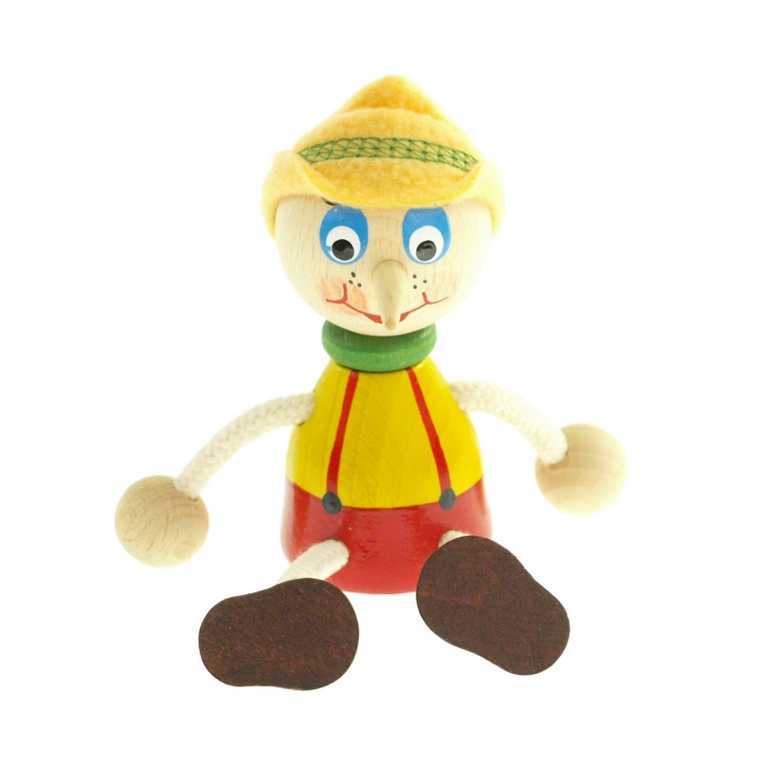 Panáček Pinocchio s kloboukem