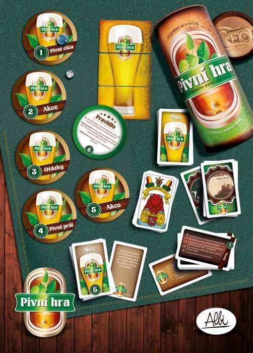 Párty hry - Pivní hra