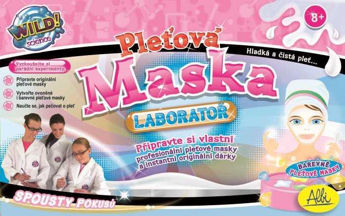 Kreativní sada - Pleťová maska - laboratoř