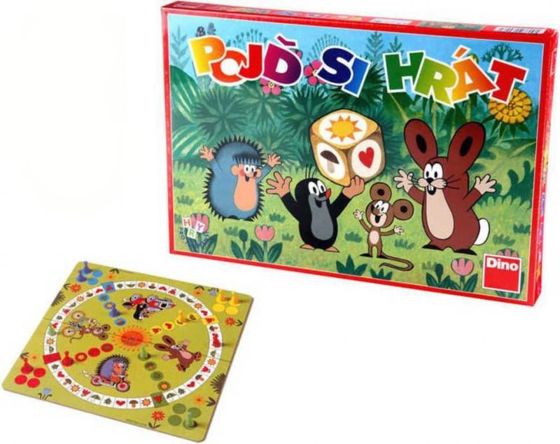 Dětská hra Krtek - Pojď si hrát