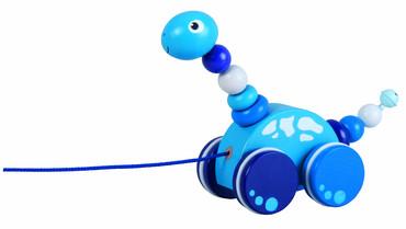 Detoa Tahací Brontosaurus modrý