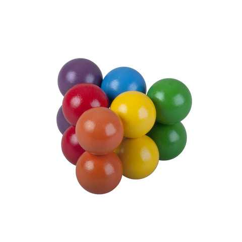 Detoa Hlavolam barevné kuličky