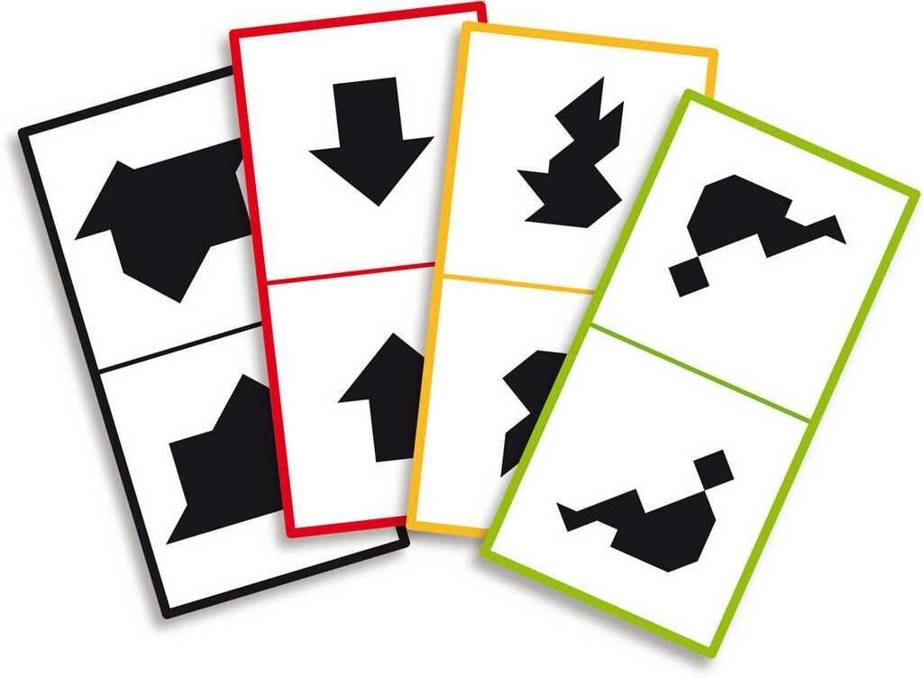 Dřevěná hračka Vilac - Dřevěný tangram