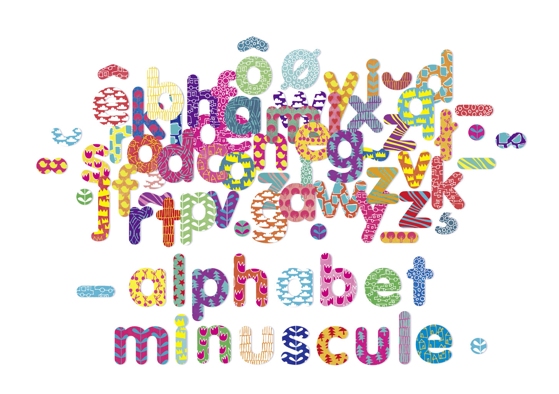 Vilac - Dřevěné magnetky psací abeceda 81ks