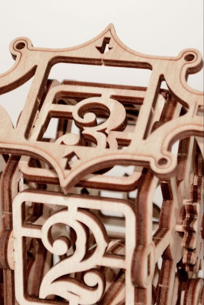 Wood Trick 3D mechanické puzzle - Koleso šťastia